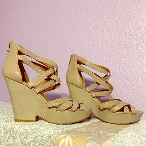 Lucky Brand Stappy Heeled Sandals